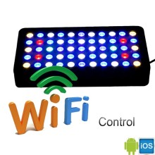2017 new design Wifi remote control smart 55x3w 165w full spectrum aquarium led lighting