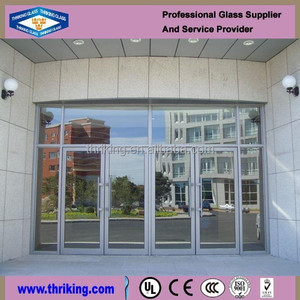 Exterior Outdoor Glass Panels in China