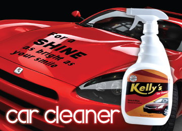 Kellys car cleaner
