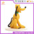 Custom model factory plastic Dogs figure and brown dog plastic mini toys