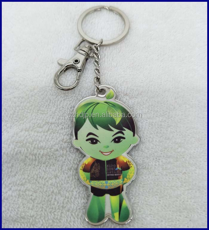 custom metal keychain,Custom cheap Anime Cartoon Metal Keychain,EXPO 2017 ASTANA