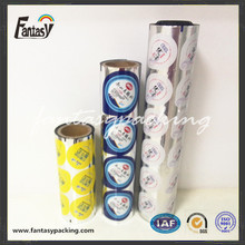 Aluminum sealing film for PS cup