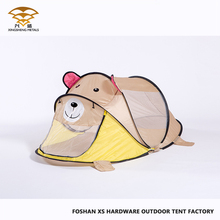 2018 New Wholesale Brown Bear Kids Tent Bed Kids Pop Up Tent