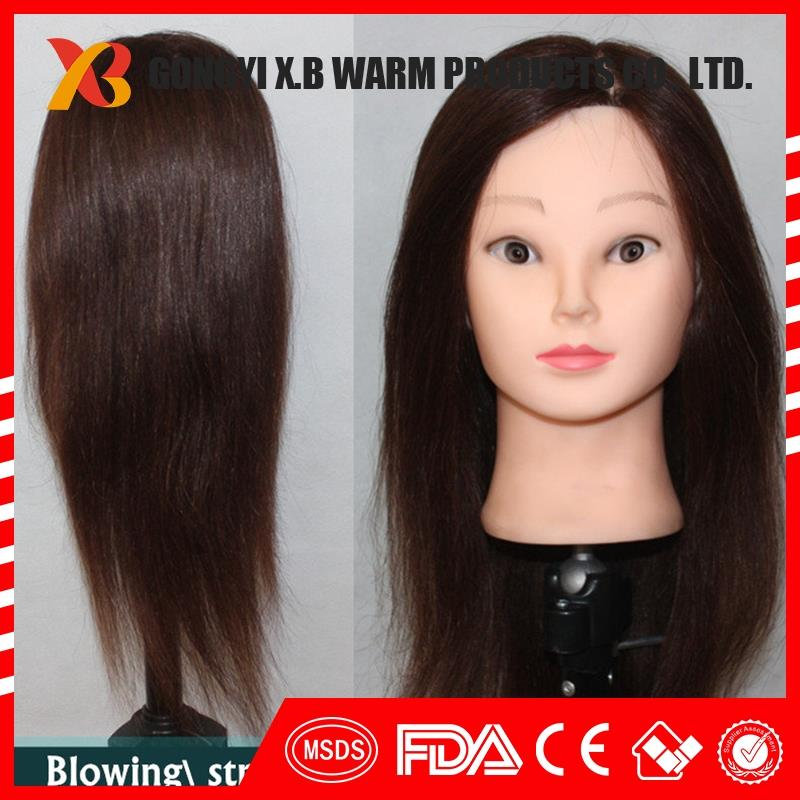 mannequin head training 100 human hair cosmetology head human hair