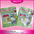 Cute design mylar side gusset plastic bags/laminated printed packaging bags