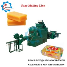 50-150kg/h Small Toilet Laundry Bar Soap Make Machine For Sale