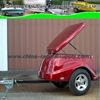 Wholesale Buy Supplier Sale High quality box fiberglass cargo trailer CT0019