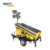 3x200W Solar Energy Portable Light Tower with Generator