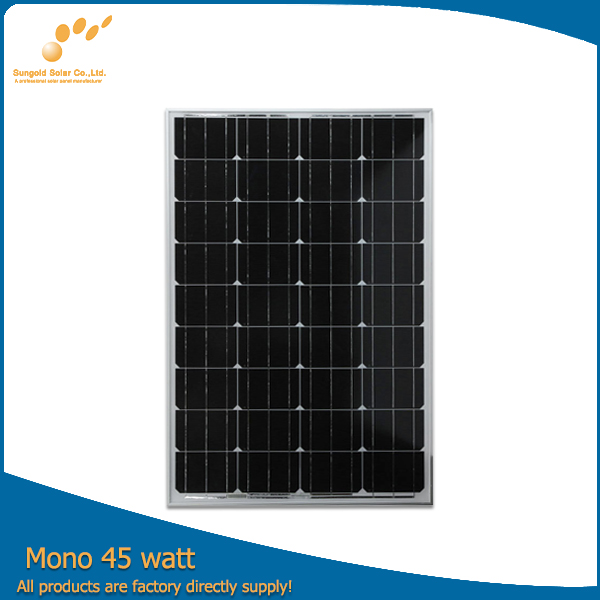 Hot selling best price mono 135W solar panel in shenzhen