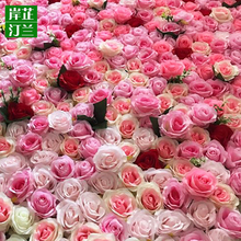 Artificial wedding decoration flower wall backdrop