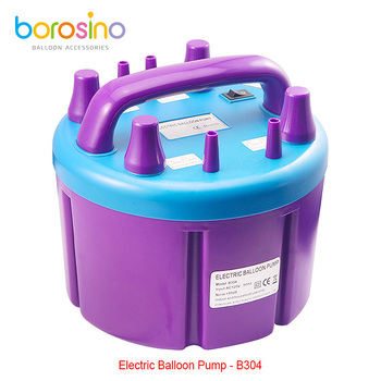 B304 Four Nozzles Electric Balloon Blower Pump Inflatable Electric Balloons Pump Air Inflator Machine