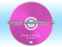 Blank media 8.5GB DVD+R Dual layer ,Free sample for evaluation