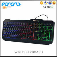 2016 manufacturer wholesale hot sale latest Competitive price LED Wired Backlit Gaming Keyboard