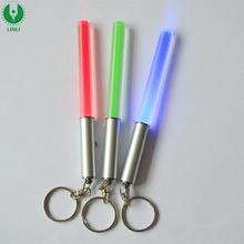 Best Party Gifts Mini Led Stick Key Chain, Glow Led Light Stick Keychain, Blinking Stick Keyholder