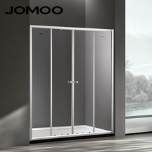 JOMOO four star hotel standard tempered thickened glass shower room