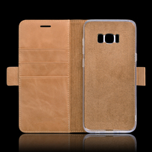 Phone Accessories Wallet Leather Mobile Cell Phone Case for Samsung Galaxy S8