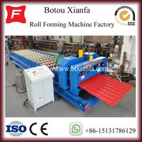 Steel Sheeting Roll Forming Machine Glazed Tile Roof Metal Panel Forming Machine