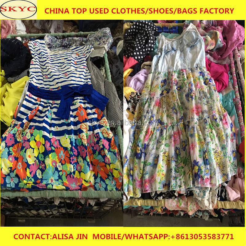premium sorted used clothes in Guangzhou China export goods bulk overstock used clothing lots for sale