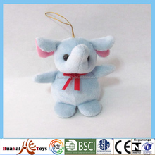 "A59 5"" plush stuffed pendant keychain elephant/pig small animals doll"