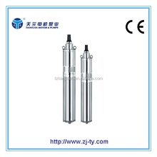 QGY QGYD series specification of submersible water pump