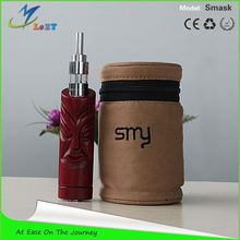 OEM welcomed!!! 2014 Original lezt ecig vaporizer rose wood magneto Smask ecig car holder