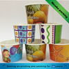 welcomed Custom Printed coated PE Paper Ice Cream 12oz Frozen Yogurt Cup