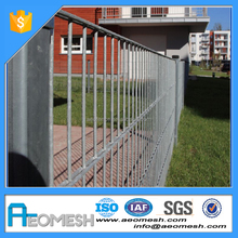 Direct Manufacturer iron Double Loop Ornamental Fence with large Quantity