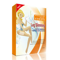 Natural ingredients leg weight loss patch/ Microcrystalline leg slimming magic sticker