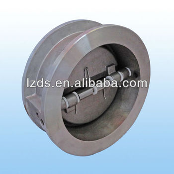 Non return valves double flap