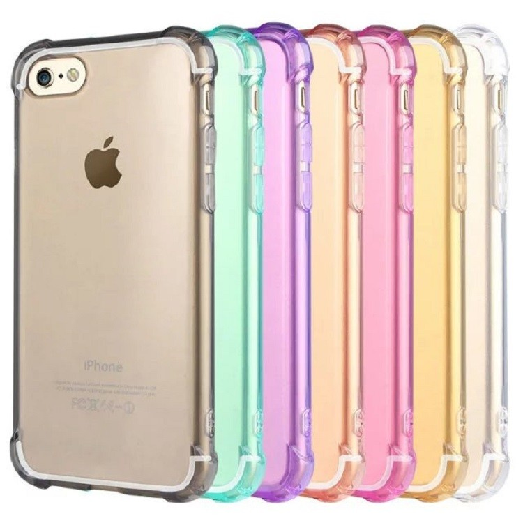 Hard PC + Soft Silicone Combo ShockProof cell phone cover for iphone 7