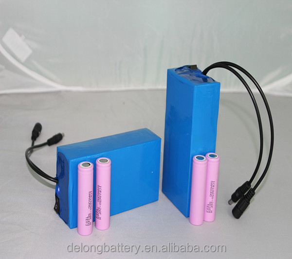 rechargeable lithium ion battery 12v for LED lights