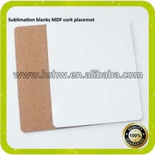 sublimation blanks MDF placemats and coaster set