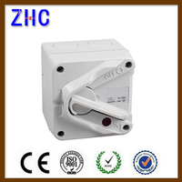 1 Pin 10 Amp IP66 waterproof Electrical Power Isolating switch