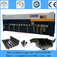 stainless steel cnc v-cutting machine, V piercing machine for cabients doors, Elevator
