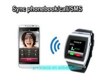 Alibaba china hot sale 2014 unlocked watch mobile phone
