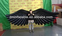 2014 New black inflatable wing costumes