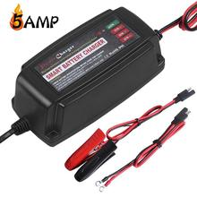 Multi function,waterproof 13.8v 5amp intelligent smart battery charger 12v