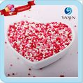 Wholesale Edible pink sugar pearl sprinkles
