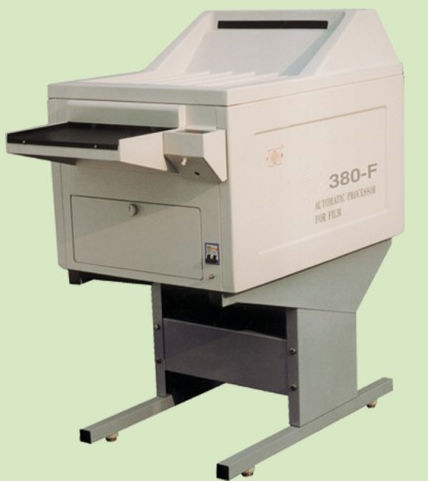 High effect automatic x-ray film processor JH-380F with CE approved