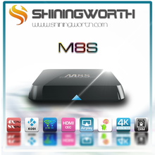2015 Android Smart TV Box Amlogic S812 Chip 4K 2G/8G XBMC Dual band wifi Full HD Android 4.4 Media Player M8s TV Box