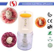 portable new design with stainless steel blade cheap mini chopper / meat ,onion grinder