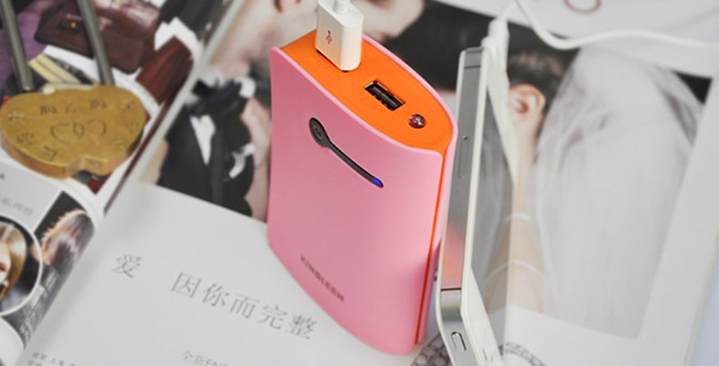 Universal Portable Backup Power Bank 7800mah 18650 USB Charger External Battery Pack for iPhone, Blackberry, Samsung Galaxy ect
