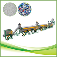 PE PP life plastic waste recycling machine