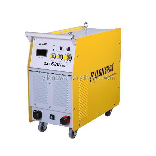 ZX7-630I Industry welding and soldering machine battery with IGBT MMA arc inverter