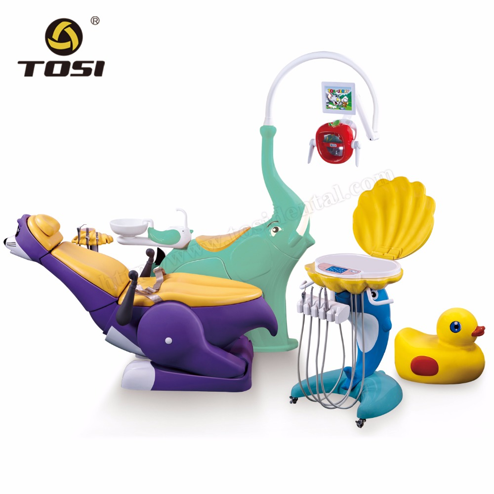 2017 Good selling electric children dental chair for sale