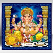Lenticular 3d pictures indian god 3d images for wholesale (OR-009)