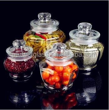 800ml Decorative Food Grade Glass Jars Candy Fruit Glass Container Buy Food Grade Glass Jars