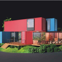 Modular Container Dormitory Buildings for 4 rooms design dormitories Containerhouse