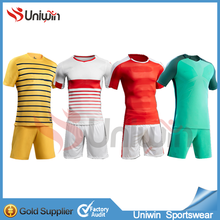 2017 High Quality Club Soccer Uniforms Big size soccer jerseys