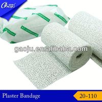 20-110 100% Cotton ISO, CE,FDA Certificate gypsona plaster of paris bandage